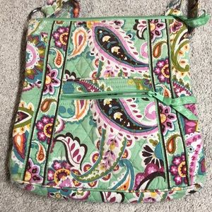 Vera Bradley cross-body purse tutti-frutti pattern
